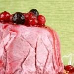 Wild berries bavarian cream (bavarese) — Stock Photo #65370053