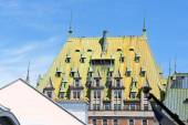 Chateau Frontenac Hotel in Quebec City — Stock Photo