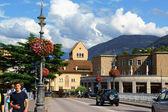 Puente de Ponte Talvera en el centro de Bolzano (Bozen) — Foto de Stock