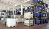 Industry, chemical warehouse — Stock Photo