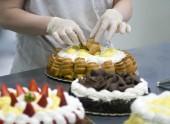 Cake decoration — Stock Photo