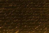 Old handwritten text — Stock Photo