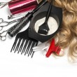 Hairdresser Accessories — Stock Photo #58163223