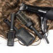 Hairdressers tools — Stock Photo #75148369