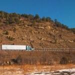 Trucking On Freeway — Stock Photo #56110787