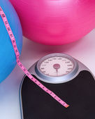 Healthy Weight Scale — Стоковое фото