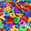 Abstract Background from Colorful Letters. — Stock Photo #51988643