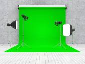 Interior of Modern Photo Studio — Stock Photo