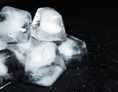 Heap of Ice Cubes — Stock Photo