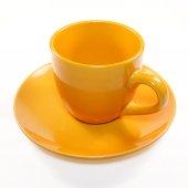 Empty Orange Cup — Stock Photo