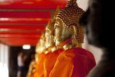 Golden Buddha Statue, Wat Pho, Thailand — Foto de Stock