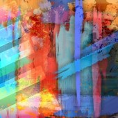 Abstracte kleurrijke oude gevlekte achtergrond — Stockfoto
