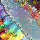Abstrakt färgglada gamla fläckig bakgrund — Stockfoto