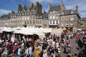 Dinan Knights Festival — Stock Photo