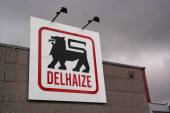 Delhaize supermarket — Stock Photo