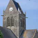 St. Mere Eglise — Stock Photo #62611517