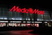 Media Markt megastore — Stock Photo