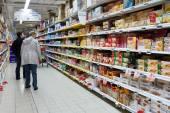 Cookies aisle — Stock Photo