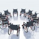 Wheel chairs — Stock Photo #59377751