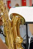Saxophone — 图库照片