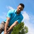 Young golfer — Stock Photo #57495077