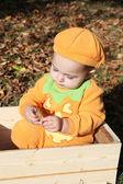 Halloween baby — Stock Photo