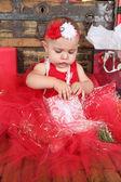 Boże Narodzenie dziecka — Zdjęcie stockowe
