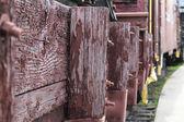 Abandoned rails — Stock Photo