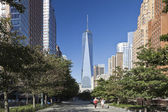 NEW YORK, USA - Freedom Tower in Lower Manhattan — Stock Photo