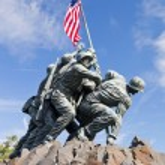 WASHINGTON DC, USA - Iwo Jima statue — Stock Photo #65739315