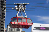 New York, USA - The famous Roosevelt Island cable tram — Stock Photo