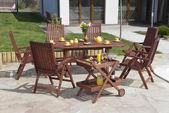 Garden furniture — Stock Photo