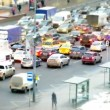 Traffic jams at rush hour — Stock Video #60678509