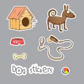 Hund. — Stockvektor