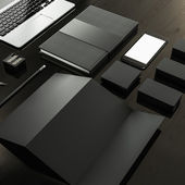 Mock up business template. — Stock Photo
