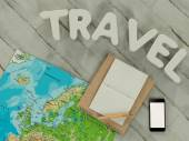 Traveling mock up business template. — Stock Photo