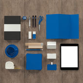 Mockup business template. High resolution. — Stock Photo