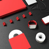 Template business for branding  — Stock Photo