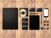 Mockup business template.  Premium — Stok fotoğraf