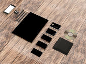 Mockup business template.  Premium — Foto de Stock
