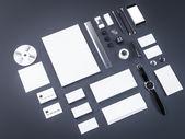 Mockup business template.  Premium — Stock Photo
