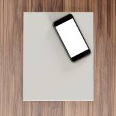 Mockup business template.  — Stock Photo