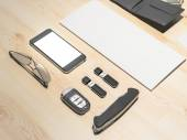 Every day carry. Mockup business template.  — Stock Photo