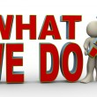 3d man - what we do? — Stock Photo #59675283
