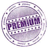 Grunge primium rubber stamp — Stock Photo