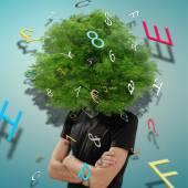 The tree of ideas — Stockfoto