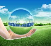 Future green energy — Stock Photo