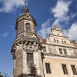Dresden Tower of Katholische Hofkirche — Stock Photo #58211541