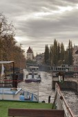 Through the locks on the Vltava — Foto de Stock