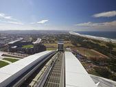 Football Stadium, top view — Stock Photo